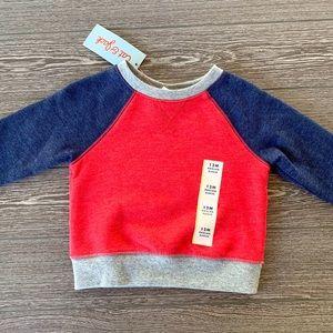 🆕 Cat & Jack raglan sweatshirt